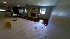 Dark Cherry Laminate Flooring Trafficmaster Brazilian Cherry Laminate Install Time Lapse Youtube