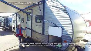 new 2018 coachmen rv catalina sbx 261bhs travel trailer at gt