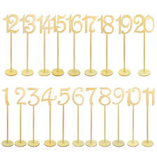 amazon com 20pcs table numbers jmkcoz 1 to 20 wood wedding table