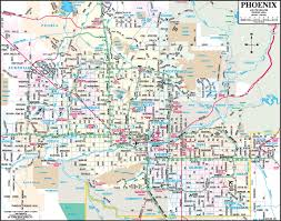 Map Phoenix Az by Phoenix Maps Arizona U S Maps Of Phoenix