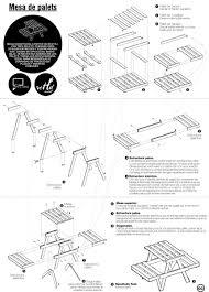 Plan De Table En Bois by Stunning Salon De Jardin Bois Plan Ideas Amazing House Design