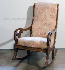 Antique Upholstered Armchairs Antique Upholstered Rocking Chair Inspirations Home U0026 Interior