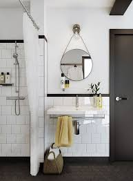 Black White Bathroom Tile 62 Best Bathroom Images On Pinterest Bathroom Architecture And