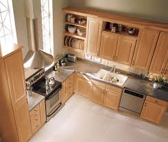 Interesting Natural Maple Kitchen Cabinets Granite Ideas For E - Natural maple kitchen cabinets