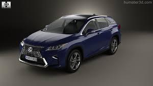 lexus hybrid 2016 360 view of lexus rx hybrid 2016 3d model hum3d store