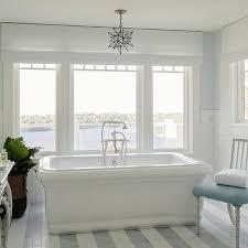 Beach Cottage Bathroom White And Blue Beach Cottage Bathroom Design Ideas