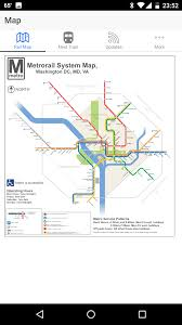 Wmata Map Metro by District Commuter