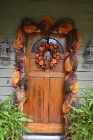 deco mesh halloween garland front doors fun coloring fall front door 47 fall front door
