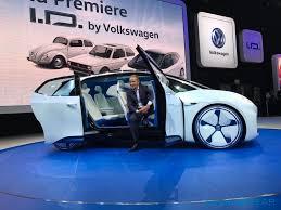 volkswagen electric car volkswagen i d electric car slashgear