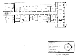 carleton college floor plans nourse maps