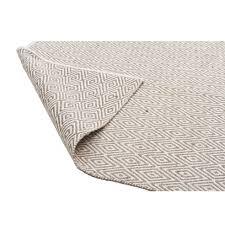 Modern Grey Rug by Modern Flat Weave Diamond Design Grey Floor Rug