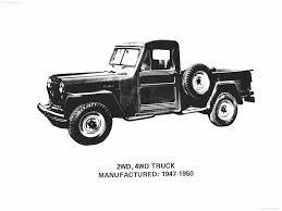 old jeep truck jeep pickup truck 1947
