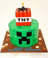minecraft birthday cake ideas themed cakes