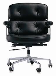 chairman executive chair in leather office chairs mid century