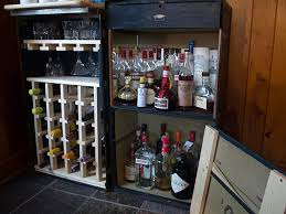Trunk Bar Cabinet Steamer Trunk Liquor Cabinet Fanti