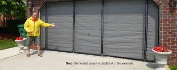 Magnetic Curtains For Doors Garage Garage Door Screen Magnetic Home Garage Ideas