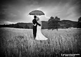 Wildfire Wedding Photos by Black And White Photo Of Wedding With Yellow Umbrella