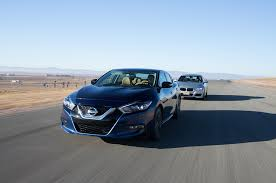 nissan maxima us news four seasons 2016 nissan maxima sr vs 2016 bmw 340i automobile