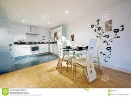 cucina e sala da pranzo cucina e sala da pranzo progettista immagine stock immagine