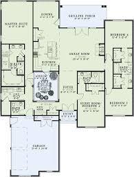 home plans homepw76422 2 454 square feet 4 bedroom 3 309 best single story floor plans images on pinterest modern