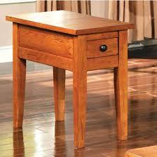Oak End Tables Steve Silver Liberty Chairside End Table Oak Oak Finish Oak End
