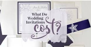 wedding invitations cost what do wedding invitations cost charmcat
