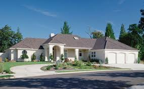 house plans with portico european plan with grand entry and arched portico 69164am