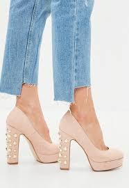 high heels stilettos u0026 black white u0026 heels missguided