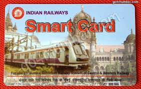 indian railways smart card for travelling in mumbai