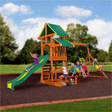 outdoors lowes playset costco swingsets gorilla swing sets