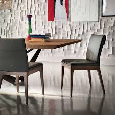 skorpio wood table 94 in by cattelan italia yliving skorpio wood table with tosca low back side chairs