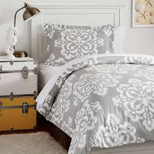 Pb Teen Duvet Ikat Medallion Duvet Bedding Set With Duvet Cover Duvet Insert