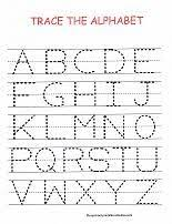 free alphabet worksheet from www preschool printable activities