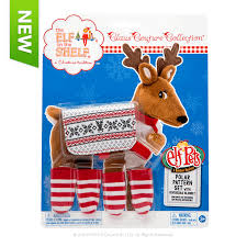 on the shelf reindeer the on the shelf claus couture collection polar pattern set