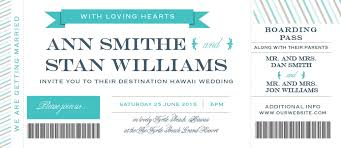boarding pass invitations boarding pass wedding invitations match your color style free