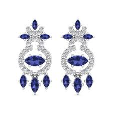 diamond earrings with price the amadeus earrings diamond jewellery at best prices in india