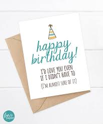 funny birthday card funny sister birthday funny brother