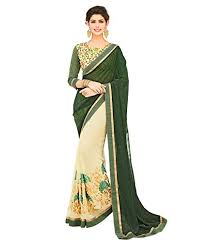 manish creation pista bottle green color embroidered jacquard