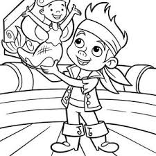 jake neverland pirates coloring pages jake land