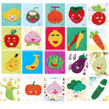 20pcs lot vegetable tissue art fruit tissue crafts kids crafts