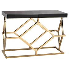 Wildon Home Console Table Wildon Home Silver Console Table