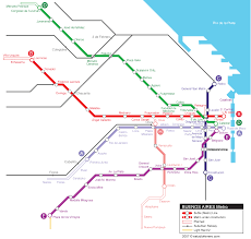 Metro La Map by Buenos Aires Metro Map Subway U2022 Mapsof Net