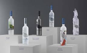 Grey Goose Gift Set Spin The Bottle Central Saint Martins Alumni Concoct New Artworks
