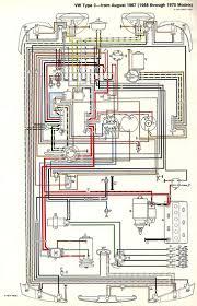vw bug wiring diagram with schematic pictures 73 volkswagen