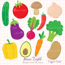 veggies clipart scrapbook printable planner stickers clip art