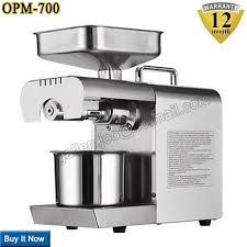 moulin graines de cuisine appareils de cuisine huilerie acier inoxydable presse à huile