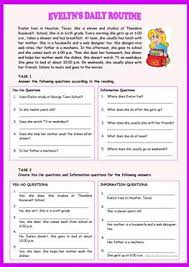432 free esl daily routine worksheets