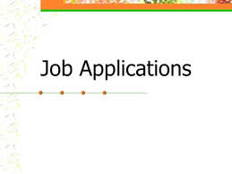 job applications dn in folder 1 answer what do job applications