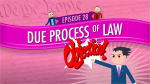 high school government class online due process of crash course government and politics 28