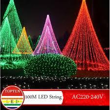 novelty 600 leds 100m flasher string lighting for outdoor indoor